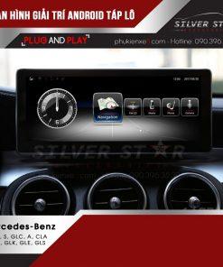 Màn hình giải trí Android táp lô Mercedes ảnh 1