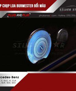 Nắp chụp loa Burmester đổi màu cho Mercedes