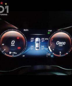 Cảnh báo áp suất lốp cho Mercedes